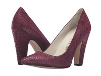 Anne Klein Hollyn Wine Reptile Women's Shoes Burgundy