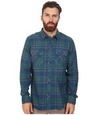 Tavik Vincent Blue Men's Long Sleeve Button Up