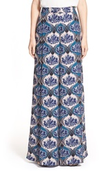 Yigal Azrouel Floral Print Wide Leg Palazzo Pants Night Multi