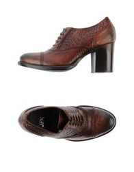 Jfk Lace Up Shoes Dark Brown