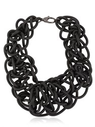 Alienina Knotted Rubber Necklace