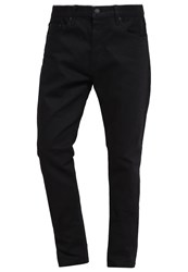 Earnest Sewn Bryant Slouchy Slim Fit Jeans Raw Black Black Denim