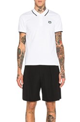 Kenzo K Fit Polo In White
