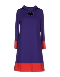 22 Maggio Short Dresses Purple