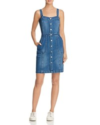 Blank Nyc Blanknyc Snap Front Denim Jumper Dress 100 Bloomingdale's Exclusive