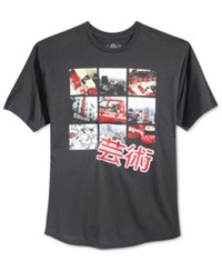 American Rag Men's Graphic Print T Shirt Only At Macy's Black