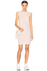 Rick Owens Drkshdw By Column Tunic In Pink