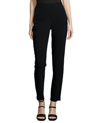 Sachin And Babi Noir Tuxedo Beaded Slim Crop Pants