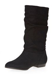 Dorothy Perkins Tess Slouch Boots Black
