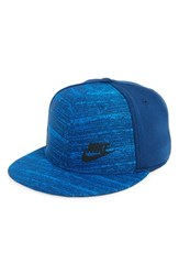 Nike Men's 'True Tech' Snapback Cap Blue Coastal Blue Black