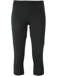 Adidas By Stella Mccartney Fitness Capris Black