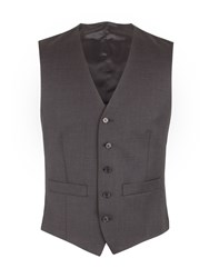 Pierre Cardin Men's Charcoal Check Vest Charcoal