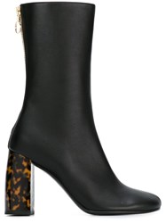Stella Mccartney Zip Up Ankle Boots Black