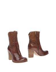 Donna Piu Footwear Ankle Boots Women Brown