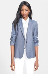 Women's Equipment 'Jay' Blazer Blue Multi