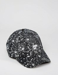 Hype Baseball Cap Splat Black