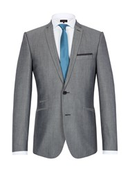 Limehaus Tonic Single Breasted Suit Jacket Grey