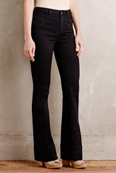 Anthropologie Pilcro High Rise Flare Jeans Black