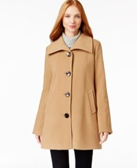 Jm Collection Wing Collar Coat Only At Macy's Suede
