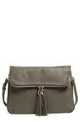 Bp. Foldover Crossbody Bag Grey