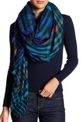 Collection Xiix Classic Plaid Square Scarf Multi