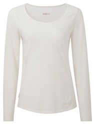 Craghoppers Nosilife Long Sleeved Tee White