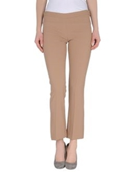 Paola Frani Dress Pants Light Brown