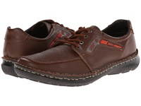 Lobo Solo Quebec Cognac Leather Men's Lace Up Casual Shoes Brown