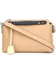 Fendi Small 'By The Way' Tote Nude Neutrals