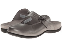 Vionic With Orthaheel Technology Joan Mary Jane Mule Pewter Metallic Women's Clog Shoes