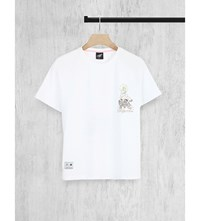 Illustrated People Hollywood Cotton Jersey T Shirt White