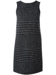 Ermanno Scervino Sleeveless Knit Dress Grey