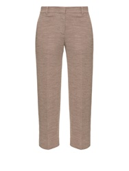 Helmut Lang Pique Knit Cropped Trousers