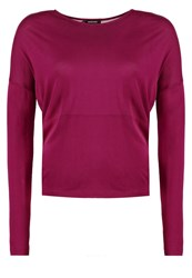 More And More Long Sleeved Top Berry