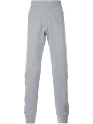 Lanvin Gathered Ankle Track Pants Grey
