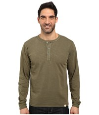 Mountain Khakis Mixter Henley Shirt Field Green Men's Clothing