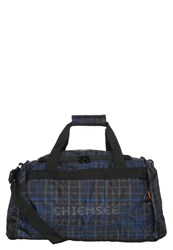 Chiemsee Sports Bag Check Black