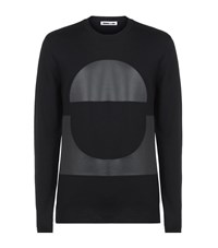 Mcq By Alexander Mcqueen Mcq Alexander Mcqueen Leather Panel Zip Sweater Male Black