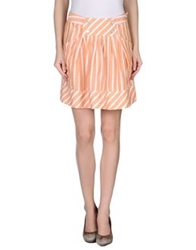 Murphy And Nye Mini Skirts Apricot
