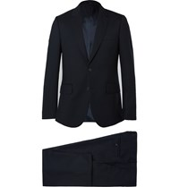 Paul Smith A Suit To Travel In Navy Soho Wool Suit Blue