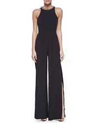 Sass And Bide Create A World Bead Neck Jumpsuit Women's French Navy