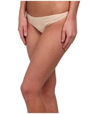 Hanro Ultralight Thong Skin Women's Underwear Beige