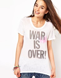 Junk Food Warhol Is Over T Shirt In Get Faded Salt White