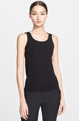 Akris Punto Wool Tank Black