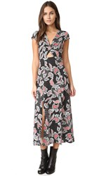 Minkpink Twist Front Midi Dress Multi