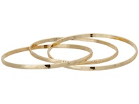 Guess Interlocking Trio Bangle Set Gold Bracelet