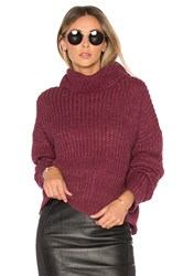 Lovers Friends On The Road Sweater Burgundy