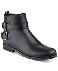 Tommy Hilfiger Julie Ankle Booties Women's Shoes Black