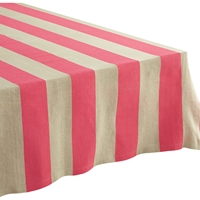 Pipeline Pink Tablecloth Cb2