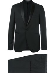 Tagliatore Shawl Lapel Dinner Suit Black